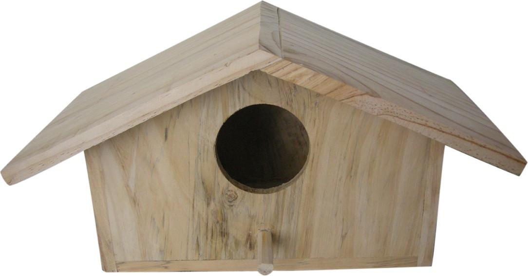 View Birdhousebuilder NB0022 Parrot Nest Box Bird House(Wall Mounting, Tree Mounting, Free Standing) Furniture (birdhousebuilder)