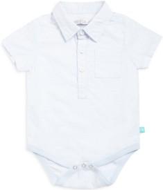 Mini Klub Baby Boys Blue Bodysuit