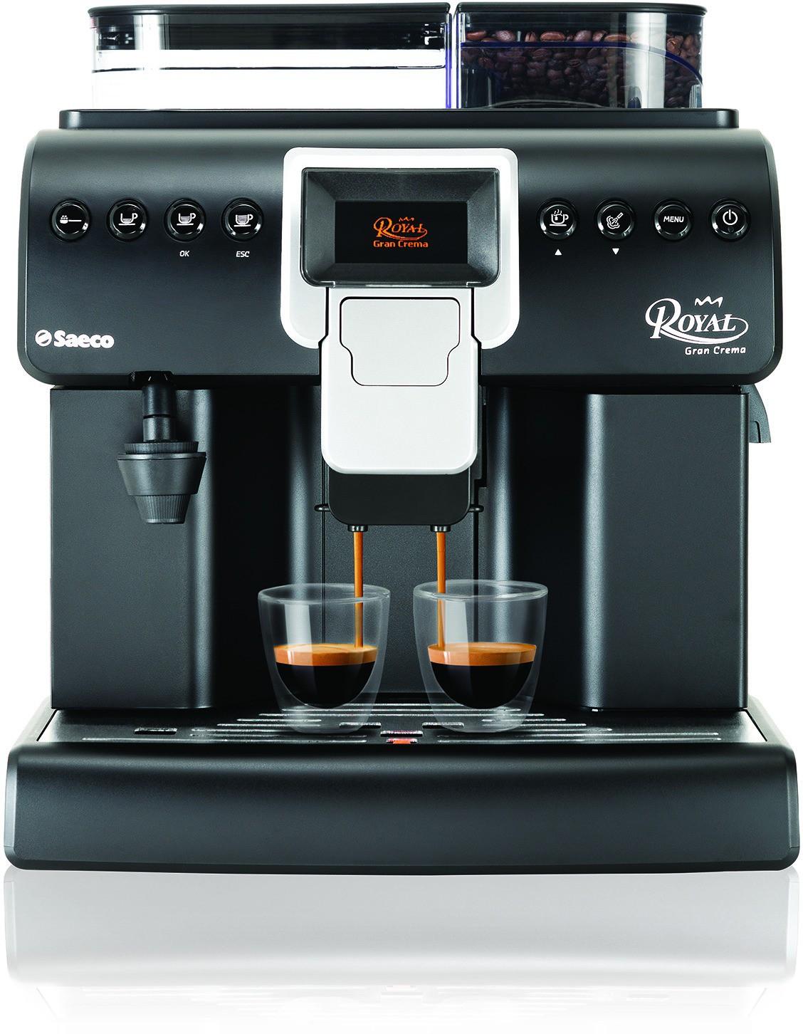 Saeco Royal Gran Crema Coffee Machine 25 Cups Coffee Maker(Dark Grey)