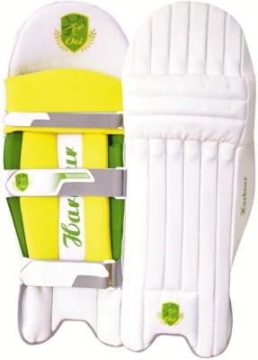 OZI HARBOUR BATTING LEGGUARD Shin Guard(M, White, Yellow)