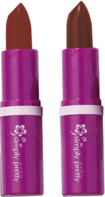 Avon Anew Color Bliss Lipstick (set of 2 of 4g each)(8 g, coffee bean-milk chocolate)
