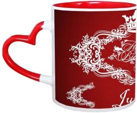 Muggies Magic Juneja Birthday Name Design 11 Oz Ceramic Mug(325 ml)