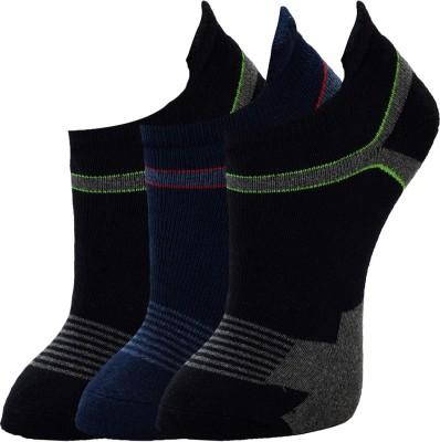 Marc Mens Ankle Length Socks(Pack of 3)