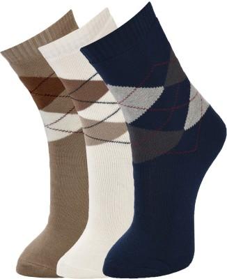 Marc Mens Crew Length Socks(Pack of 3)