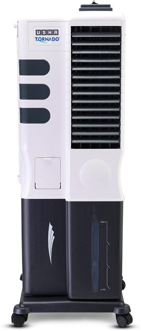View Usha CT-193 Tower Air Cooler(White, 19 Litres)  Price Online