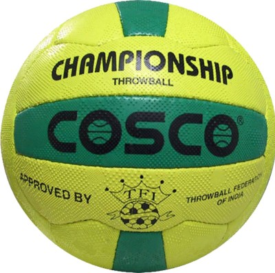 Cosco Championship Throw Ball - Size: 5(Pack of 1, Multicolor)