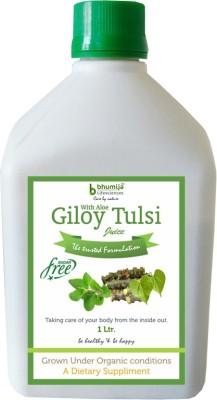 Bhumija Lifesciences Giloy Tulsi Juice (Sugar Free) Energy Drink(1 L Pack of 1)