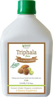 Bhumija Lifesciences Triphala (Amla, Baheda & Harad) Juice (Sugar Free) Energy Drink(1 L Pack of 1)