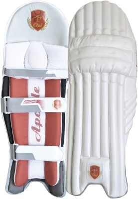 OZI APOSTLE BATTING LEGGUARD Shin Guard(M, White, Red)