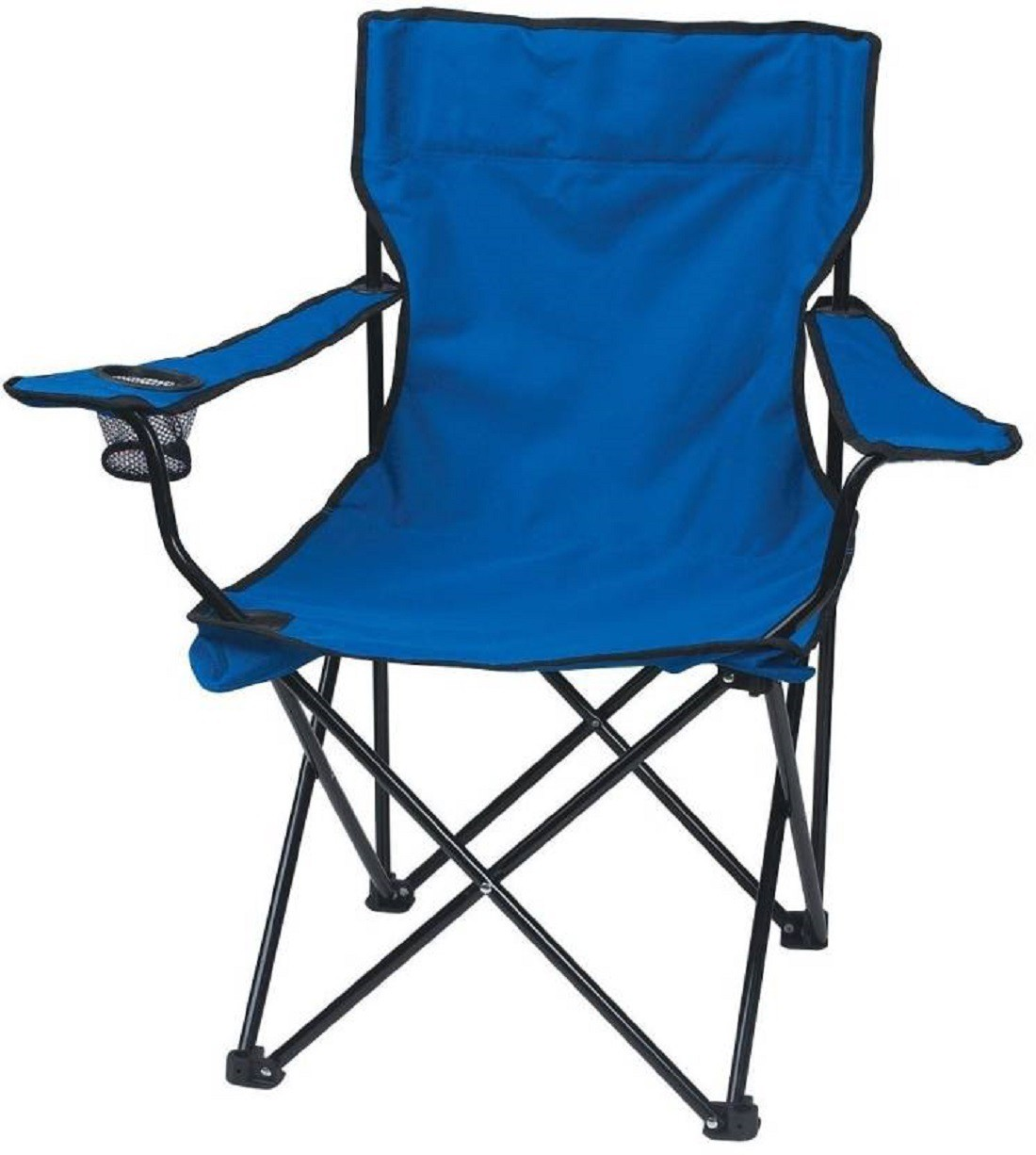 View velkro Fabric Outdoor Chair(Finish Color - Blue) Furniture (velkro)
