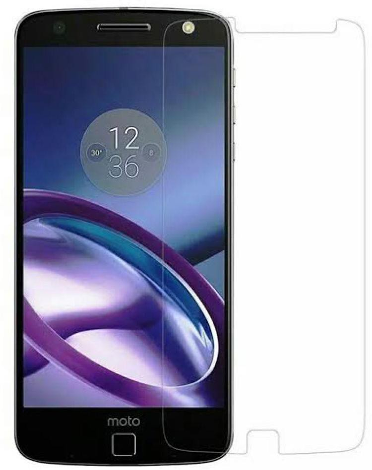 S-Model Tempered Glass Guard for Moto Z Play