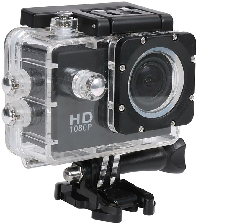 View IZED HERO 1080P Waterproof Digital with led screen(WITHOUT memory card ) Sports and Action Camera(Black 10.4 MP) Camera Price Online(IZED)