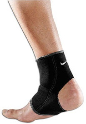 NIKE ANKLE SLEEVE CHEVILLERE Ankle Support (M, Black)