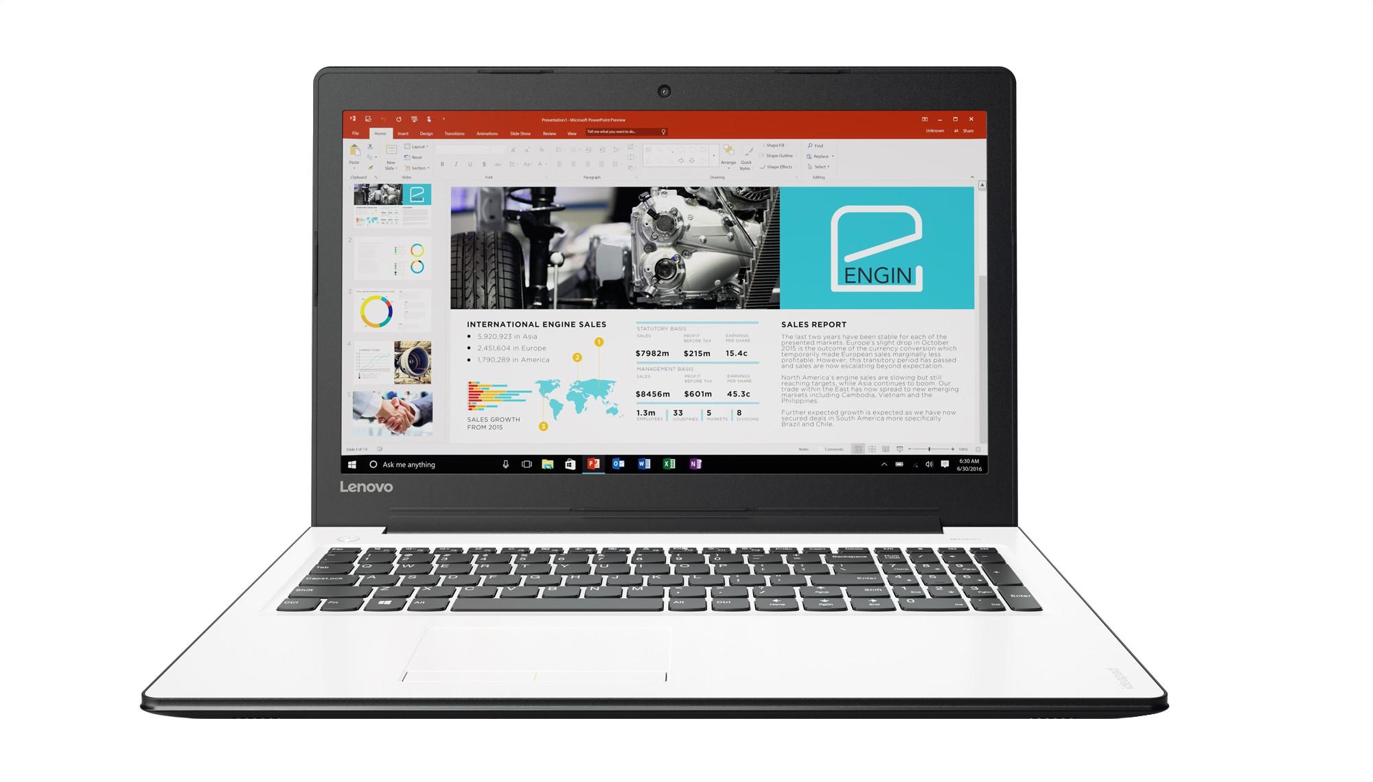 View Lenovo Ideapad 310 Core i5 7th Gen - (4 GB/1 TB HDD/Windows 10 Home/2 GB Graphics) IP 310-15IKB Notebook(15.6 inch, Platinum SIlver, 2.2 kg) Laptop