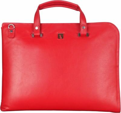 ADAMIS Leather Portfolio Folder(Red)