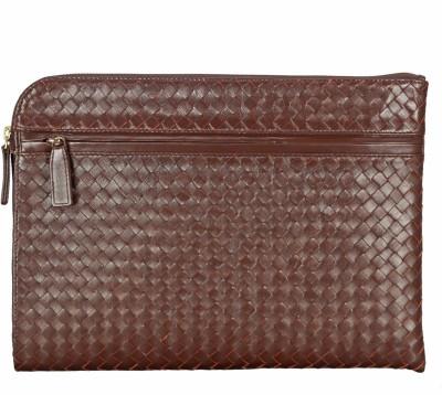 ADAMIS Leather Portfolio Folder(Brown)