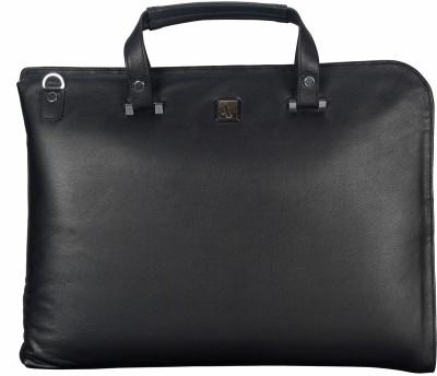 ADAMIS Leather Portfolio Folder(Black)