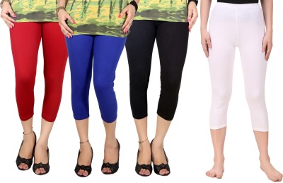 Q-rious Women's Multicolor Capri at flipkart