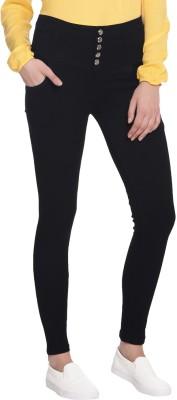 Broadstar Slim Women's Black Jeans at flipkart