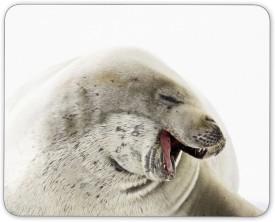 Digiclan White Seal Mousepad(White)
