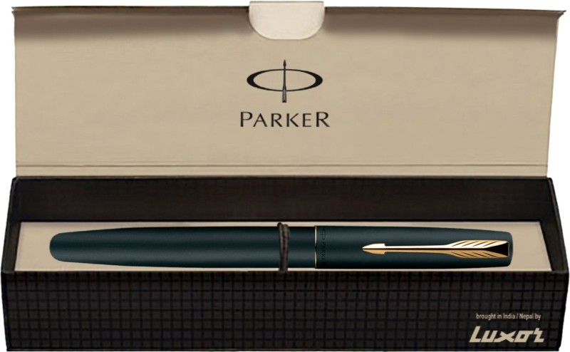 Parker Frontier Matte Black (Gold Nib) GT Fountain Pen