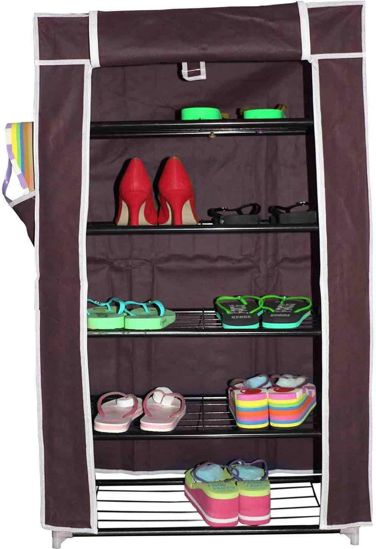 View INVENTURE RETAIL Fabric Shoe Cabinet Furniture (Inventure Retail)