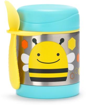 Skip Hop Zoo Food Jar - Bee - Plastic, Stainless Steel(Multicolor)