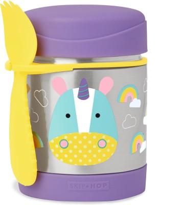 Skip Hop Zoo Food Jar - Unicorn - Plastic, Stainless Steel(Multicolor)