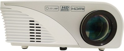 Devizer ASTER++ 1500 lm LED Corded Portable Projector(Multicolor) at flipkart