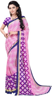 Active Printed Fashion Art Silk Saree(Multicolor)