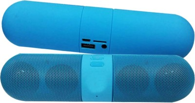Rich Walker RW_CAPS_Blue Portable Bluetooth Mobile/Tablet Speaker(Blue, 4.1 Channel)