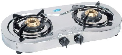 Glen Glen GL 1025 SS Gas Cooktop Stainless Steel Manual Gas Stove