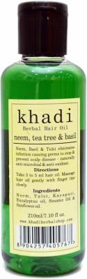 Vagads Khadi Neem,Tea Tree & Basil Hair Oil(210 ml)