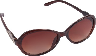 Aligatorr Ladies International Design Cat-eye Sunglasses(Brown)