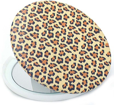 Color Fever Dual Magnifying Compact Mirror (Yellow TIger)