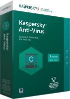 Kaspersky Anti virus 1 Device 3 Year license.