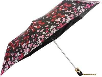 Sun Brand Christina 2- 3 Fold UV Protective Umbrella(Yellow, Pink)