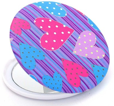Color Fever Dual Magnifying Compact Mirror (Love Bite)