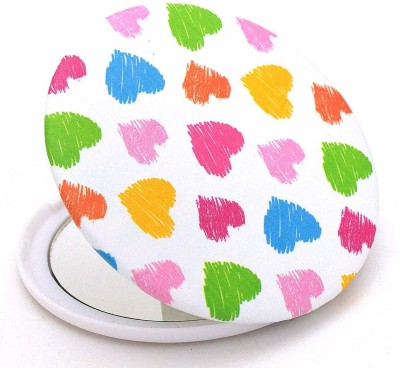 Color Fever Dual Magnifying Compact Mirror (Heart Beats)