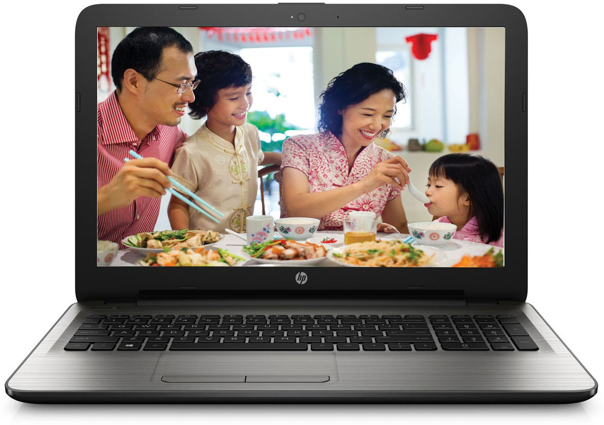 HP Notebook Core i5 6th Gen - (4 GB/1 TB HDD/DOS/2 GB Graphics) ay516tx Laptop(15.6 inch, Black) image
