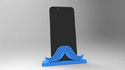 3idea Phone Holder (Blue), 3D Printed Dock(Blue)