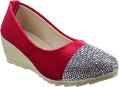 Leatherwood1 Girls Slip on Mojaris(Red)