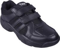 Twin Boys & Girls Velcro Sneakers(Black)