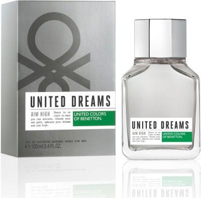 United Colors of Benetton United Dreams Aim High EDT Perfume for Men 100ml Eau de Toilette - 100 ml(For Men)