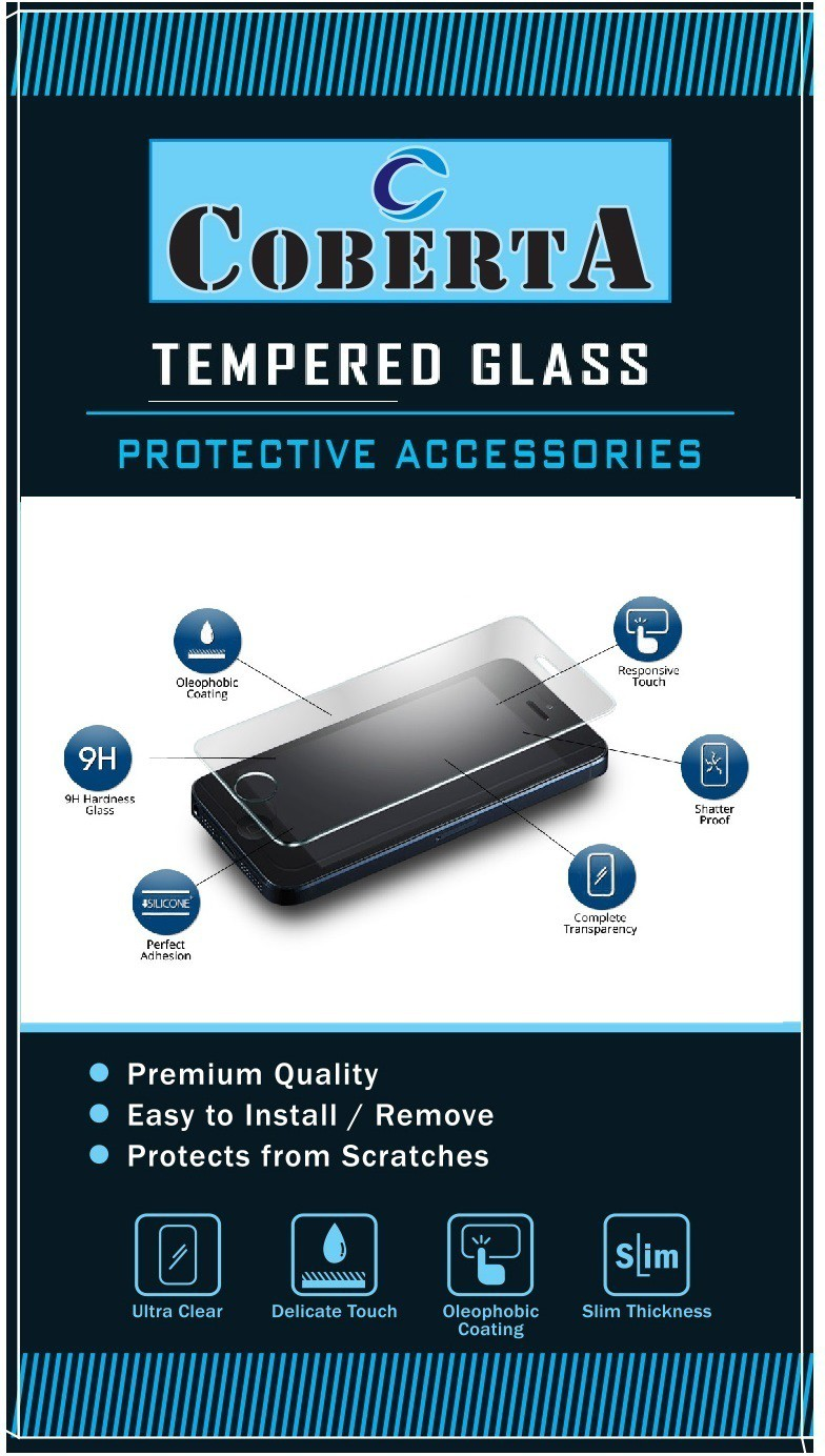 COBERTA CASE Tempered Glass Guard for LYF Wind 7i