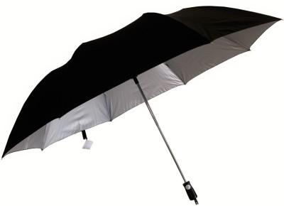 Sun Brand Topline- Big Size 2 Fold (Men UV Protective) Umbrella(Black)