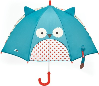Skip Hop Zoobrella Little Kid Umbrella-Owl Umbrella(Multicolor)