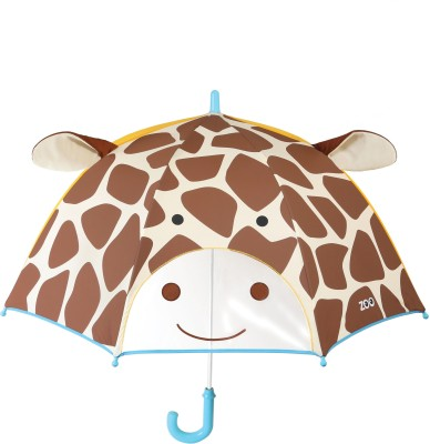 Skip Hop Zoobrella Little Kid Umbrella-Giraffe Umbrella(Multicolor)
