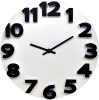 Jyoti enterprises Analog 22 cm Dia Wall Clock(White, Without Glass)