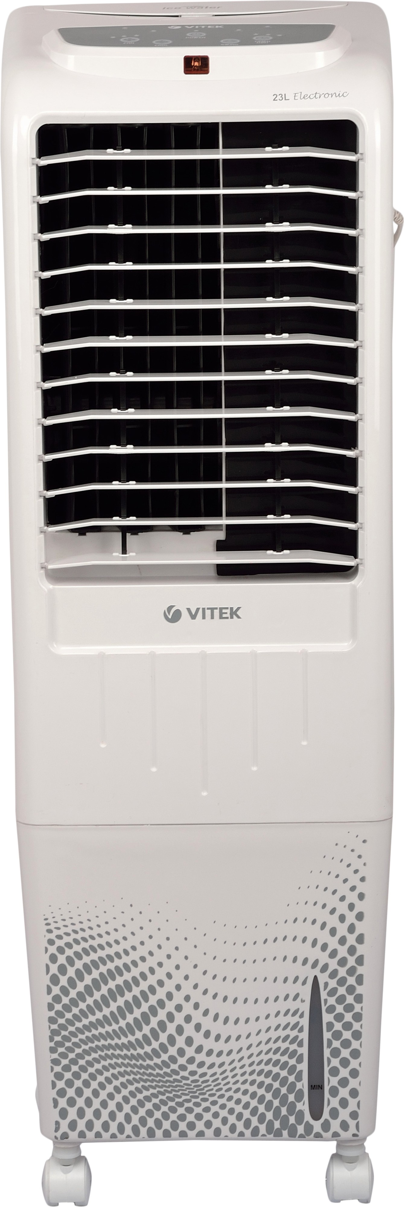 View VITEK Tower Cooler 23 L (With Remote) Tower Air Cooler(White, 23 Litres) Price Online(VITEK)